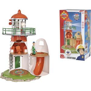 Фотография товара игровой набор Simba Пожарный Сэм, Маяк + фигурка, со светом и звуком, высота 40см (591515)