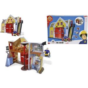 Набор Simba Пожарный Сэм - Пожарная станция со звуком и светом, 30 см, + 1 фигурка*