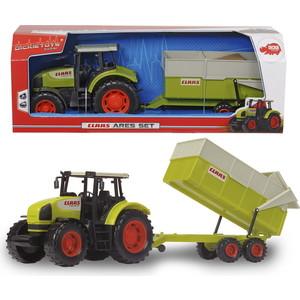 Трактор Dickie с прицепом, 57 см*** dickie toys dickie toys трактор massey с прицепом