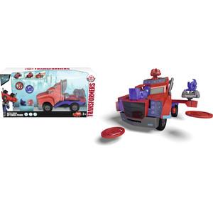 Боевой трейлер Трансформеры Dickie Optimus Prime со светом и звуком, 23см автотрек dickie simba 3083077 спайдер мэн
