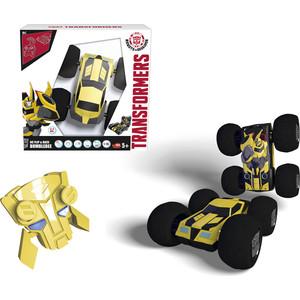 Машинка Трансформеры перевертыш Dickie Bumblebee на р/у, 1:16, 25см transformers bumblebee and grindor