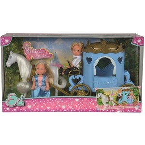 Кукла Simba Еви и Тимми в карете, 12 см simba сортер грибок