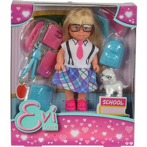 Кукла Simba Еви и школьные принадлежности