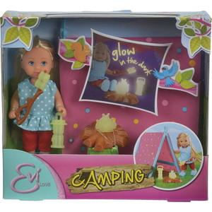 детские зонтики simba 7864165 Набор Simba Кукла Еви - Кемпинг
