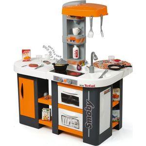 Детская кухня Smoby Tefal Cuisine Studio XL, 86х62х100см, со звуком бытовая техника игрушечная smoby smoby набор tefal тостер кофеварка