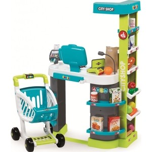 Супермаркет игровой Smoby City Shop, со светом и звуком горки smoby ks