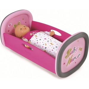 Колыбель для пупса Smoby Baby Nurse, 28,5х52х26см smoby кубики