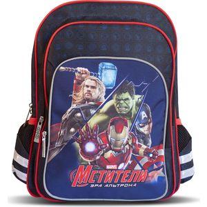 Рюкзак ортопедический Росмэн Marvel двухсекционный Мстители (29202)