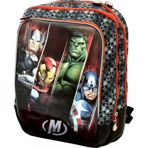 Рюкзак ортопедический Росмэн Marvel мягкий Мстители (25902)