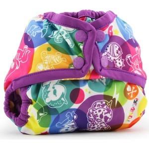все цены на Подгузник для плавания Kanga Care Newborn Snap Cover - tokiCorno/Orchid