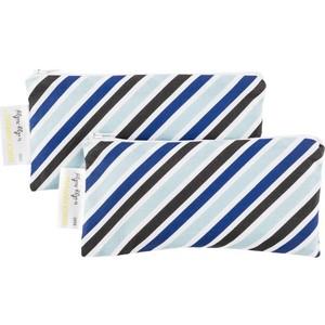 Сумочки ланч боксы Itzy Ritzy 2 шт. Snack Happens Mini Sail Away Stripe