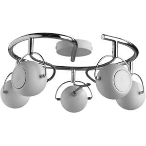 Спот Artelamp A9128PL-5WH бра artelamp interior a7107ap 1ab