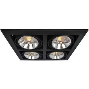Встраиваемый светильник Artelamp A5935PL-4BK