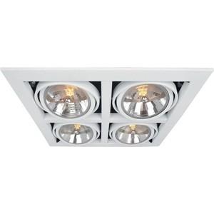 Встраиваемый светильник Artelamp A5935PL-4WH бра artelamp interior a7107ap 1ab