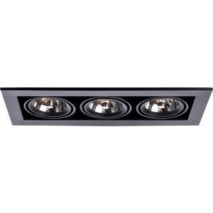 Встраиваемый светильник Artelamp A5930PL-3BK бра artelamp interior a7107ap 1ab