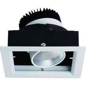 Встраиваемый светодиодный светильник Artelamp A1712PL-1WH бра artelamp a2020ap 1wh