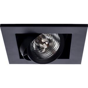 Встраиваемый светильник Artelamp A5930PL-1BK светильник встраиваемый artelamp technika a5930pl 2bk
