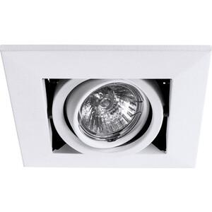 Встраиваемый светильник Artelamp A5941PL-1WH бра artelamp a2020ap 1wh