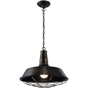 Подвесной светильник Artelamp A9183SP-1BR светильник настольный artelamp woods a1010lt 1br
