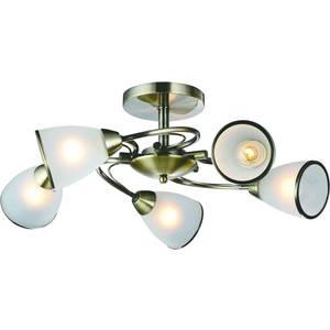Потолочная люстра Artelamp A6056PL-5AB бра artelamp interior a7107ap 1ab