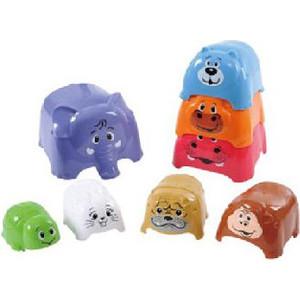 Игровой набор Playgo Формочки-животные (Play 2375) ролевые игры playgo игровой набор для приготовления хот догов делюкс