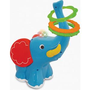 Развивающая игрушка Kiddieland Слон-кольцеброс (KID 053553) кораблик kiddieland