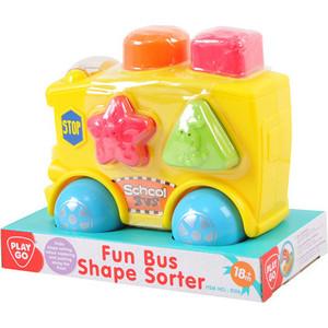 Развивающая игрушка Playgo Автобус-сортер (Play 2106) сортеры playgo развивающая игрушка самолет сортер