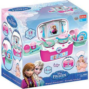 Фотография товара игровая кухня в чемодане Bildo Холодное сердце (B 8703) (593176)