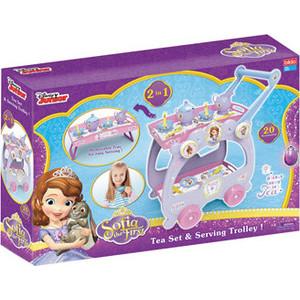 Фотография товара игровой набор Bildo Посуда с тележкой Принцесса София (B 8506) (593188)