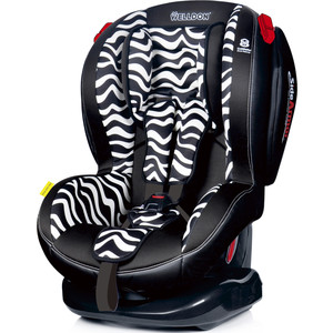 Автокресло Welldon NEW Royal Baby SideArmor & CuddleMe BS02N-BCE Zebra