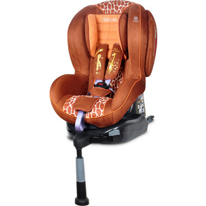 Автокресло Welldon Royal Baby SideArmor & CuddleMe ISO-FIX Giraffe Talk автокресло welldon encore fit sidearmor cuddleme isofix