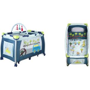 Babies Детский манеж-кровать P-1B детский манеж luckymango er145