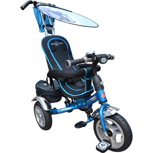 Трехколесный велосипед Lexus Trike Vip (MS-0561) голубой велосипед трехколесный mars trike голубой кошки chic 2 print