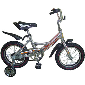 Детский двухколесный Jaguar MS-A142 Alu серебро rt велосипед двухколесный ba hot rod 12