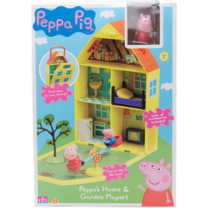 Фотография товара игровой набор Росмэн Дом Пеппы с садом (31611) (593718)