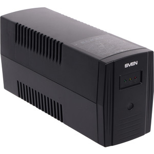 ИБП Sven Pro 600 (2 EURO) ибп fsp aga 600 600va 360w 3 3 euro