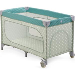 Кровать-манеж Happy Baby Martin BLUE