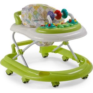 Ходунки Happy Baby Smiley V2 GREEN ковш для воды happy baby bailer green 34003