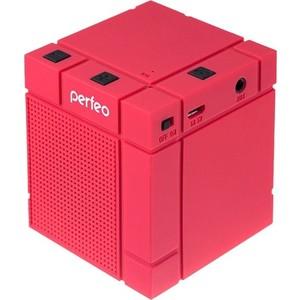 Портативная колонка Perfeo XBASS-BOX red