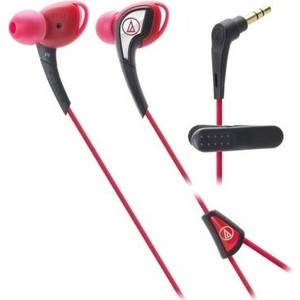 Наушники Audio-Technica ATH-SPORT2 red наушники audio technica ath sport2 black