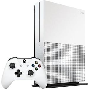 Игровая приставка Microsoft XBox One S 500Gb + игра Minecraft игровая приставка