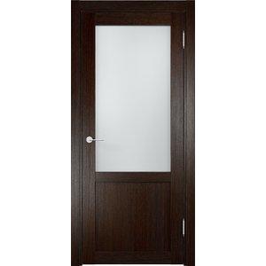 Дверь ELDORF Баден-4 остекленная 2000х800 экошпон Дуб темный