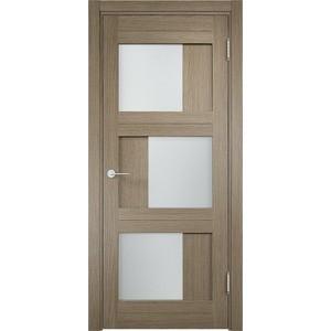 Дверь ELDORF Баден-10 остекленная 1900х600 экошпон Дуб дымчатый дверь межкомнатная ламинированная коллекция 10 8ф 2000х600х40 мм остекленная ст фьюзинг италорех л 11