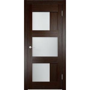 Дверь ELDORF Баден-10 остекленная 1900х600 экошпон Дуб темный дверь межкомнатная ламинированная коллекция 10 8ф 2000х600х40 мм остекленная ст фьюзинг италорех л 11