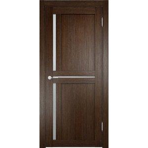 Дверь ELDORF Берлин-1 остекленная 1900х550 экошпон Дуб табак