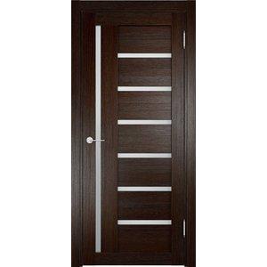Дверь ELDORF Берлин-2 остекленная 2000х800 экошпон Дуб темный дверь eldorf баден 2 остекленная 2000х800 экошпон дуб темный