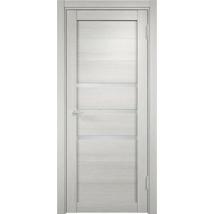Дверь ELDORF Мюнхен-1 остекленная 1900х600 экошпон Слоновая кость