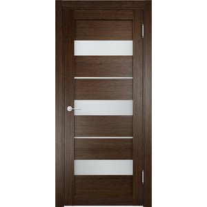 Дверь ELDORF Мюнхен-2 остекленная 2000х600 экошпон Дуб табак дверь eldorf мюнхен 5 остекленная 2000х600 экошпон дуб темный