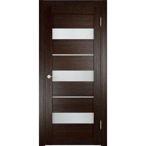 Дверь ELDORF Мюнхен-2 остекленная 2000х600 экошпон Дуб темный