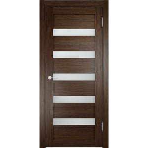 Дверь ELDORF Мюнхен-3 остекленная 2000х600 экошпон Дуб табак дверь eldorf мюнхен 5 остекленная 2000х600 экошпон дуб темный